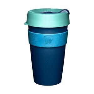Modrý cestovní hrnek s víčkem KeepCup Australis,454ml