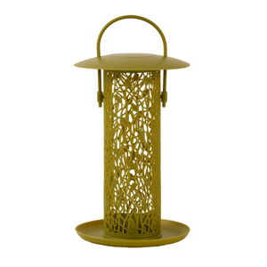 Žlutozelené závěsné krmítko na oříšky Esschert Design Chiff Chaff