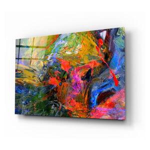 Skleněný obraz Insigne Color Burst,72 x46cm