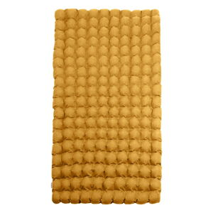 Hořčicová relaxační masážní matrace Linda Vrňáková Bubbles, 110x200cm