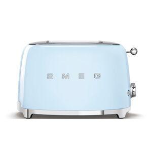 Bledě modrý toustovač SMEG