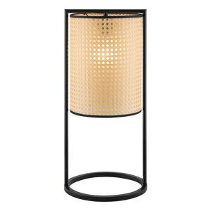 Béžová stolní lampa Fischer & Honsel Tyler,výška56cm