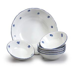 Sada porcelánových misek s modrou kytičkou Thun Ophelia