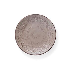 Pískově hnědý kameninový talíř Brandani Serendipity, ⌀27,5cm