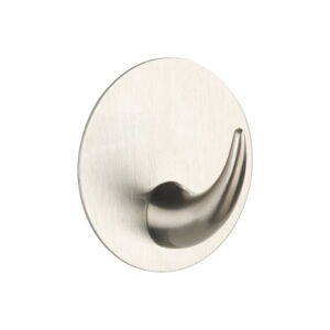 Samodržící nástěnný háček ve stříbrné barvě Wenko Leuca