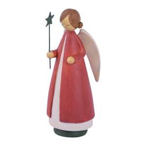 Vánoční dekorace ve tvaru anděla Ego Dekor,výška21cm
