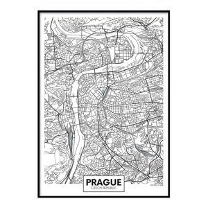 Plakát DecoKing Map Prague, 70 x 50 cm