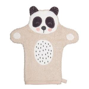 Dětská rukavice na mytí z froté bavlny Södahl Panda