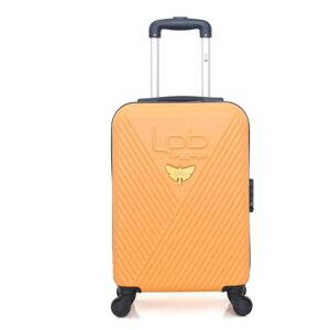 Oranžové zavazadlo na 4 kolečkách LPB Francis, 31l
