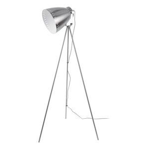 Kovová stojací lampa v šedé barvě Leitmotic Luxury