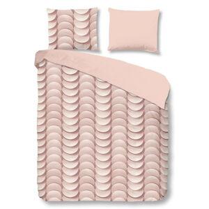 Růžové bavlněné povlečení Good Morning Emerged, 200 x 240 cm