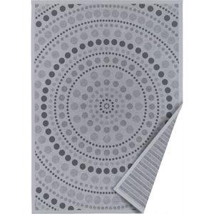 Šedý oboustranný koberec Narma Oola, 70 x 140 cm