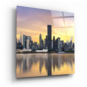 Skleněný obraz Insigne City,80 x80cm