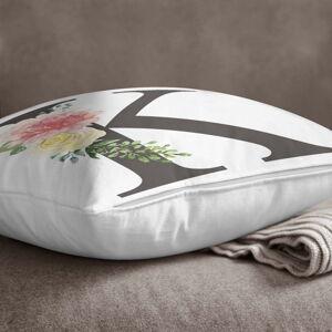 Povlak na polštář Minimalist Cushion Covers Floral Alphabet K, 45 x 45 cm