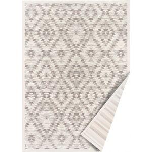 Bílo-šedý oboustranný koberec Narma Vergi, 70 x 140 cm