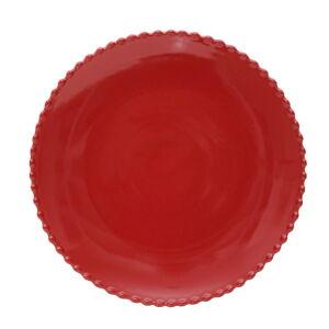 Rubínově červený kameninový talíř Costa Nova, ø 28,4 cm