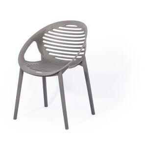 Šedá stohovatelná zahradní židle Le Bonom Joanna