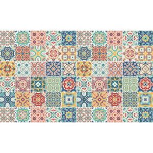 Sada 60 dekorativních samolepek na stěnu Ambiance Montanares, 10 x 10 cm