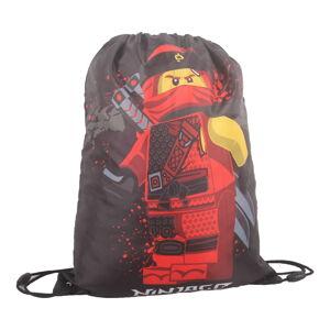 Šedý pytlík na přezůvky LEGO® NINJAGO Kai