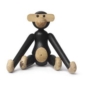 Soška z masivního dubového dřeva Kay Bojesen Denmark Monkey Hanging