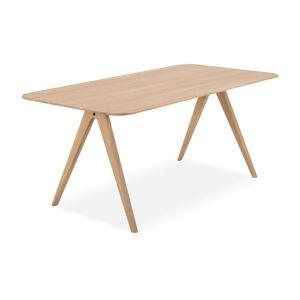 Jídelní stůl z dubového dřeva Gazzda Ava, 180 x 90 cm