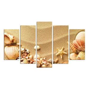 Vícedílný nástěnný obraz Sand Beach