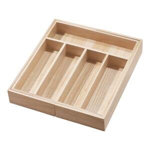 Příborník ze dřeva paulownia iDesign Eco