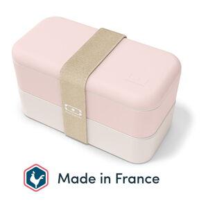 Světle růžový svačinový box Monbento Original