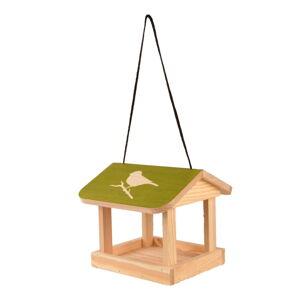 Závěsné krmítko pro ptáky z masivní borovice Esschert Design Diapozitiv