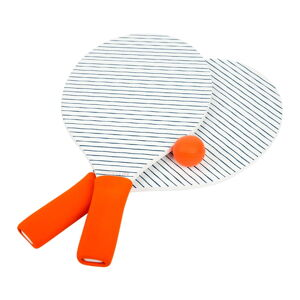 Set 2 pálek a míčků na plážový tenis Sunnylife Pomelo & Indigo
