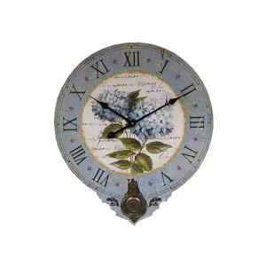 Nástěnné hodiny Antic Line Les Fleurs