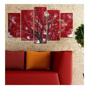 Vícedílný obraz 3D Art Red Passion, 102x60cm