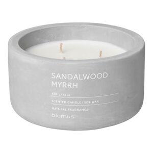 Svíčka ze sojového vosku s vůní santalového dřeva a myrhy Blomus Fraga,25 hodin hoření