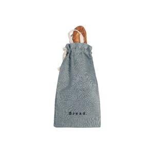 Látkový vak na chléb s příměsí lnu Linen Couture Bag Blue Sky, výška 42 cm