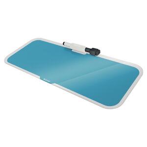 Modrá skleněná tabulka na poznámky Leitz Cosy