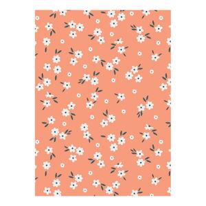 Oranžový balící papír eleanor stuart No. 2 Floral