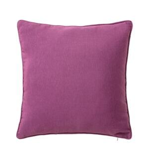 Fialový polštář Unimasa Loving, 45 x 45 cm