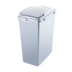 Šedý odpadkový koš z recyklovaného plastu Addis Eco Range, 40 l