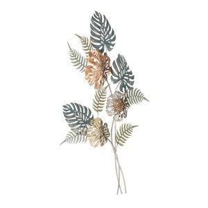 Železná nástěnná dekorace s přírodními motivy Mauro Ferretti Too, výška 98 cm