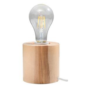 Dřevěná stolní lampa Nice Lamps Elia
