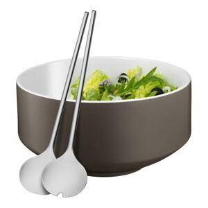 Sada salátové mísy a salátového příboru WMF Cromargan® Moto, ⌀ 13 cm