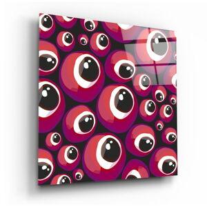 Skleněný obraz Insigne Rose Evil Eye,80 x80cm