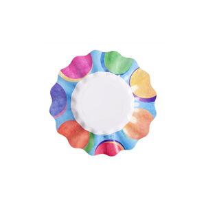Sada 10 papírových talířů GiviItalia Panarea, ⌀ 27 cm