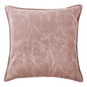 Růžový dekorativní polštář Tiseco Home Studio Chester,44x44cm