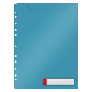 Modré velkokapacitní kancelářské desky Leitz Cosy, A4