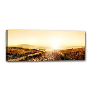 Obraz Styler Canvas Harmony Beach, 60 x 150 cm