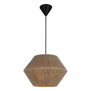 Černo-béžové závěsné svítidlo Homemania Decor Fero