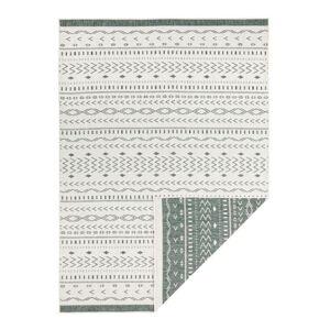 Zeleno-krémový venkovní koberec Bougari Kuba, 290 x 200 cm