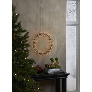 Vánoční závěsná světelná LED dekorace Star Trading Drop Flower