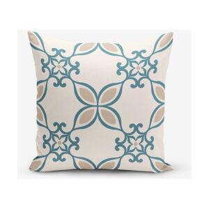 Povlak na polštář s příměsí bavlny Minimalist Cushion Covers Ethnic, 45 x 45 cm